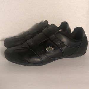 CLEAN Pair of LACOSTE Woman's Velcro shoes